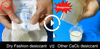 DriFashion Plus Desiccant Video